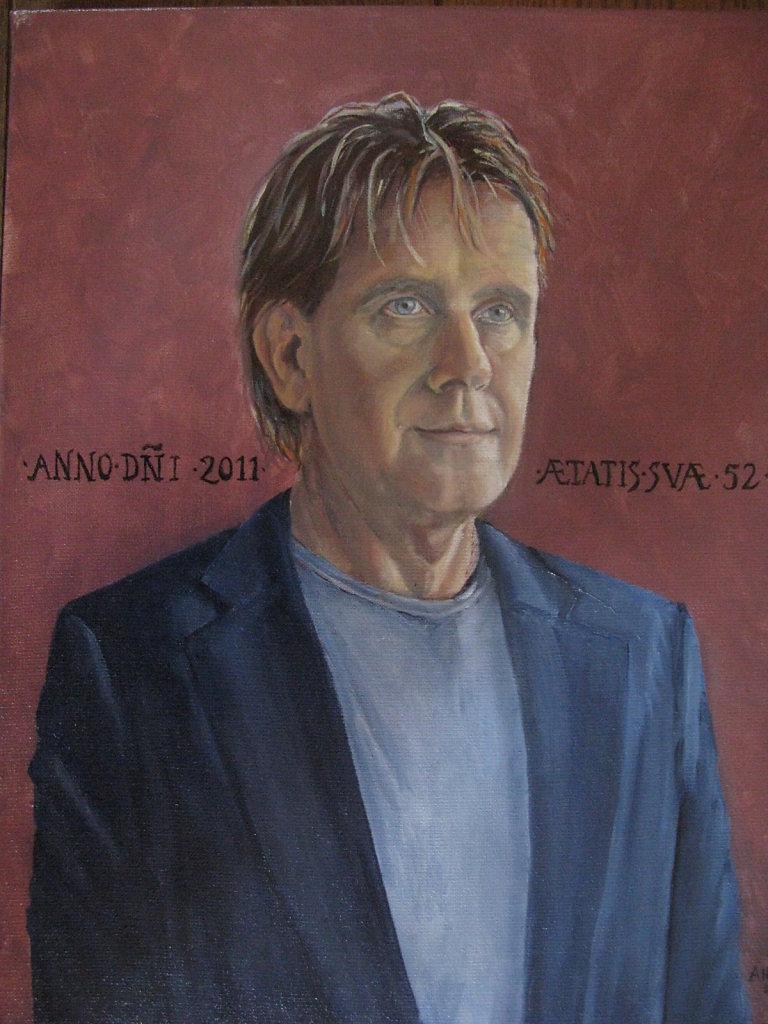 Arjan, 40 x 50, olieverf op doek, verkocht