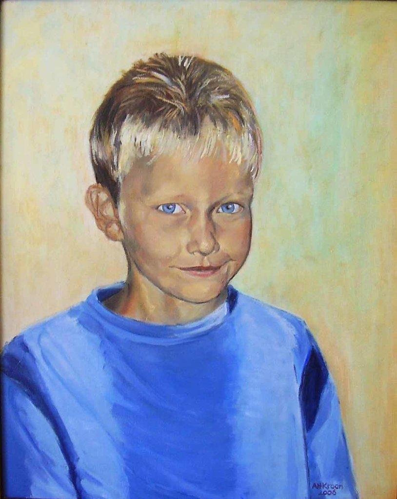 Mark, 40 x 50, olieverf op doek, verkocht