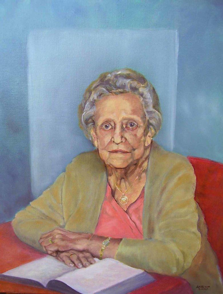 Claartje Lodewijks, 50 x 60, olieverf op doek, verkocht